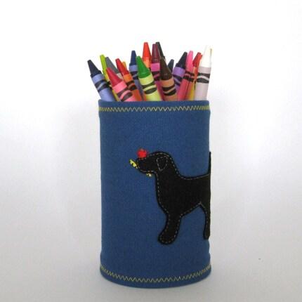 Black Lab on Teachers Rule Pup Cup