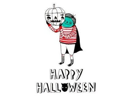 Happy Halloween - Postcard