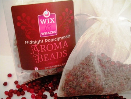 MIDNIGHT POMEGRANATE - Aroma Bead Sachet - Highly Scented - Buy 4 get 1 FREE