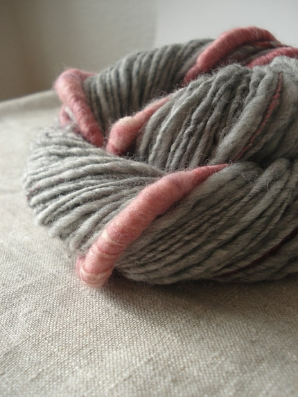 Grace, handspun art yarn