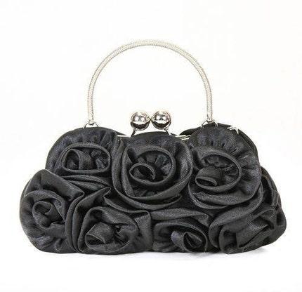 Fad and Elegance the silk fabric series Banquet-bags Handbag