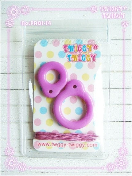 Twiggy Twiggy Blythe Pull Ring New Purple PR0114 by t2tsquare