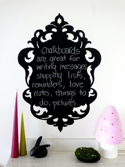 Baroque Chalkboard Frame