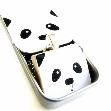 Panda Face Gift Set by sugarpanda on Etsy from etsy.com