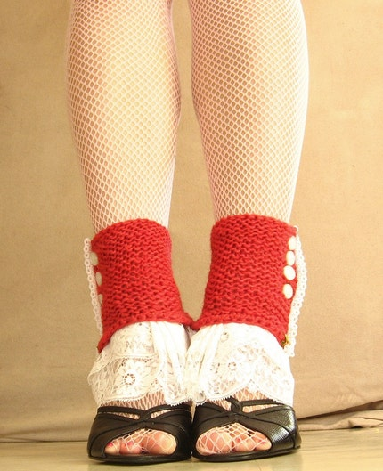Cherry Blossom Spats by EfiaFair on Etsy