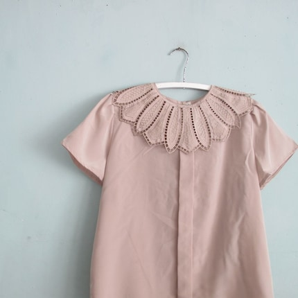 vintage IMPERIAL LEAF collared blouse