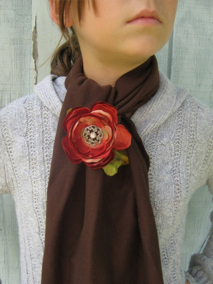 chcolate and burgundy poppies
