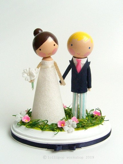 custom wedding cake topper you choose the details