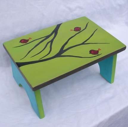 Bird step stool