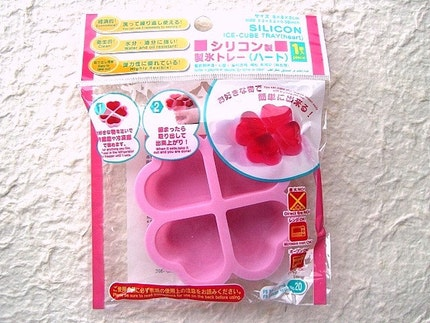 Cute Silcone Candy Molds-Heart PINK