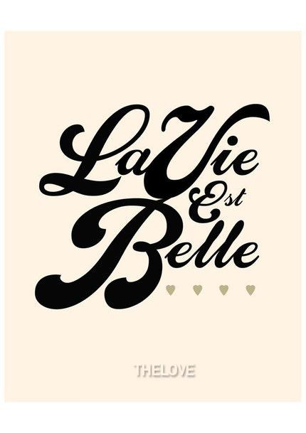 LIFE IS BEAUTIFUL / LA VIE EST BELLE