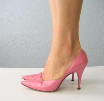 cotton candy pink stilettos