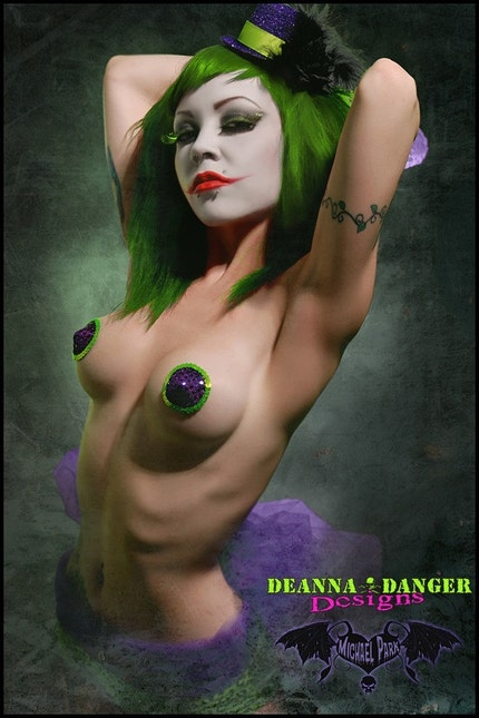 Deanna Danger Designs Joker Pastie