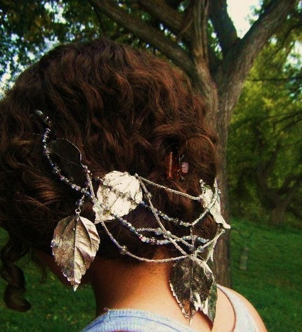 Falling Leaves Headpiece with free shipping by PhenomenaJewelry from etsy.com
