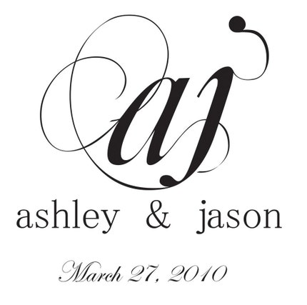 Personalized Monogram - First Initials - Digital File