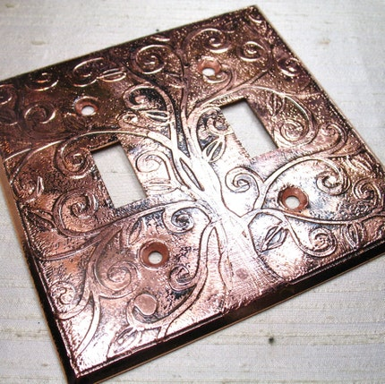 Tree of Life Switchplate II by LuraJewelry on Etsy from etsy.com