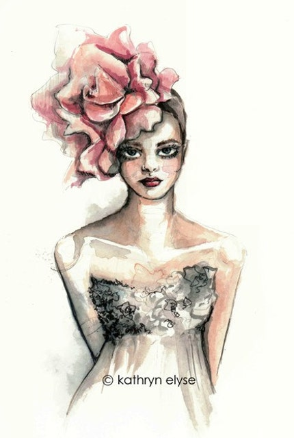 Petals Fashion Illustration