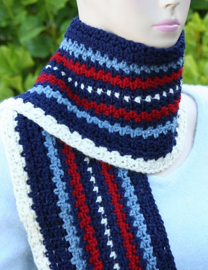 Men's or Women's Scarf by OlliesBoutique on Etsy from etsy.com
