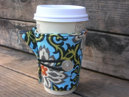Adjustable Coffee Cozy - Temple Garland