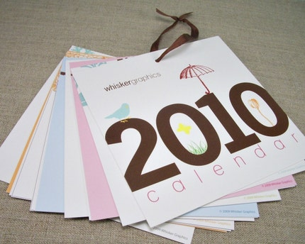 2010 Calendar - On SALE for Early Holiday Shopping - Limited SUPPLY