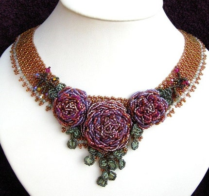 Nasrin's Rose Necklace