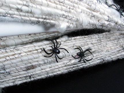 ARACHNOPHOBIA - handspun yarn (96 yds)