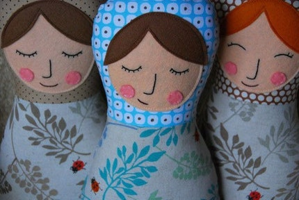 Matryoshka Doll -  Anja and Gema