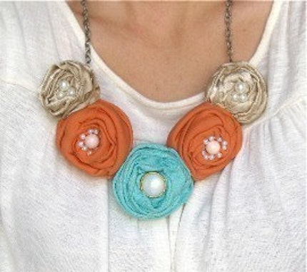 Something Special Rosette Necklace