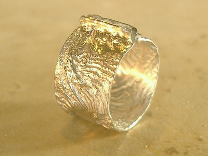 Reticulated Ring with CZs