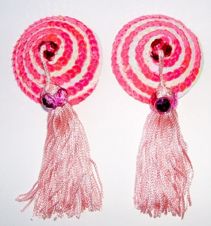 Pink Spin NIPPLE TASSEL KIT