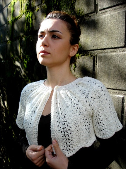 Bolero - Off White Lace