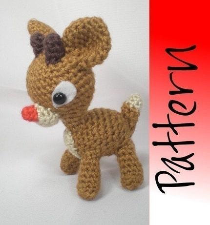 Rudy Reindeer Amigurumi : Jack & Ella Designs: Crazy Sexy Cute