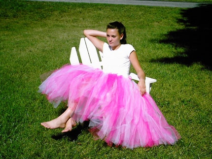 Tea Length Adult Tutu. Tutus (easy to make for adults, children, ...