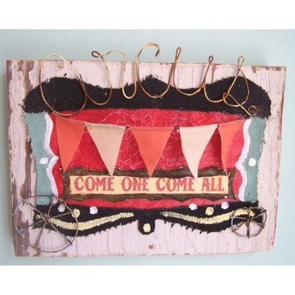 Small Circus Wagon No.3 wall hanging
