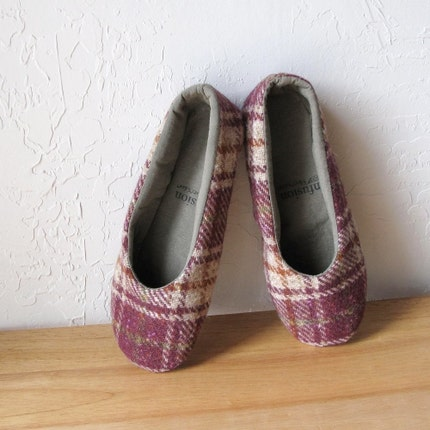 Eco Toes in Wool Plaid