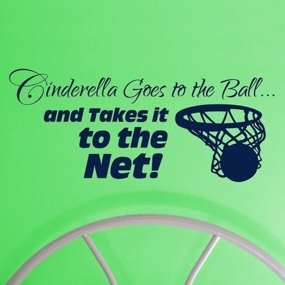 Cinderella goes to the Ball, vinyl decal