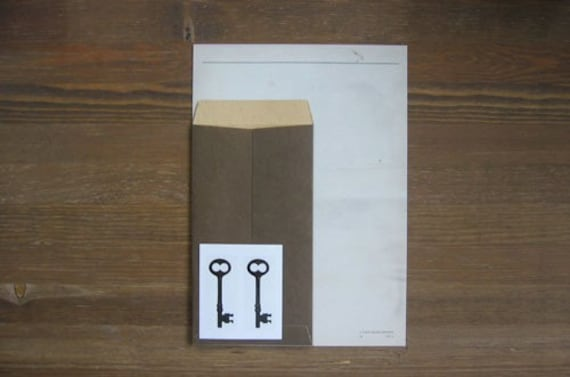 Old Style Letter paper Set