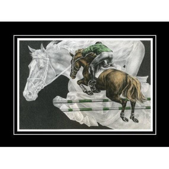 Jumping Horse (Jumper) Art 2011
