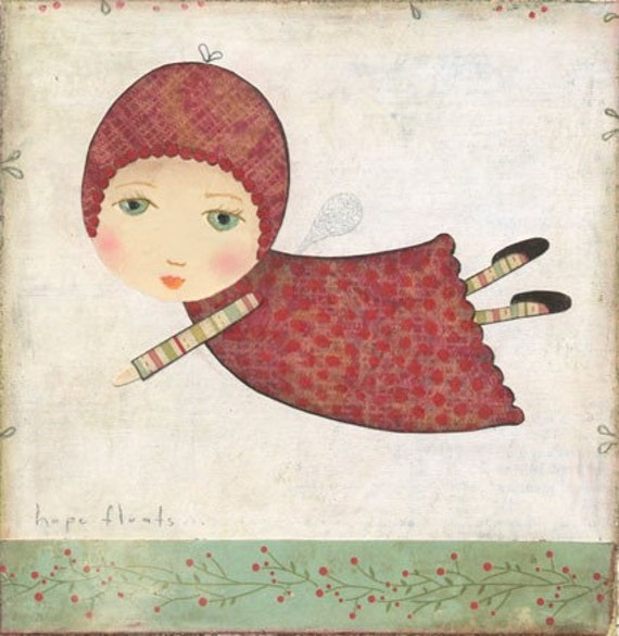 Hope floats 1 ART PRINT By Katherine Quinn