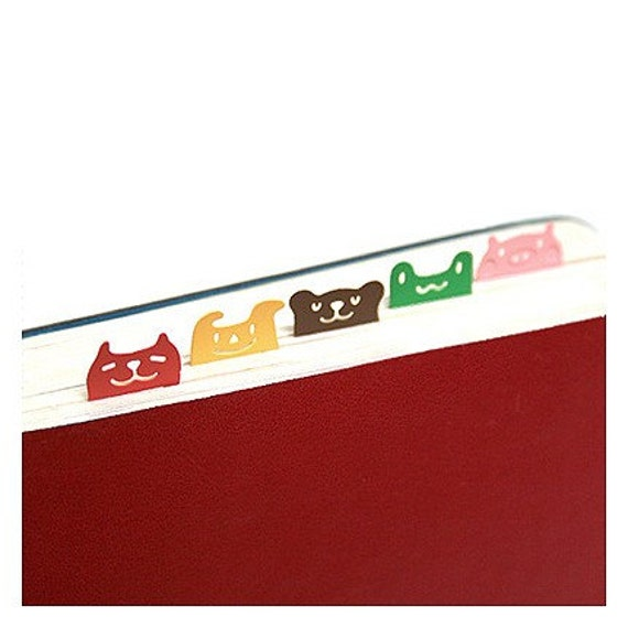 Cute Steel Book Mark - Friends