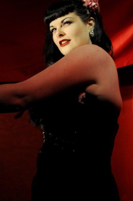 ACEO Burlesque Revue-Fine Art Print-