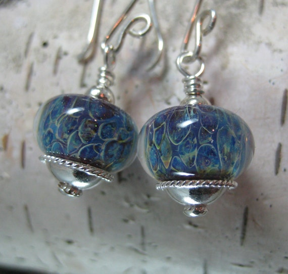 Pacific Breeze Blue Drop Earrings