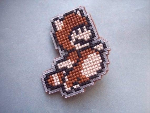 Pin-Mario Tanooki Suit