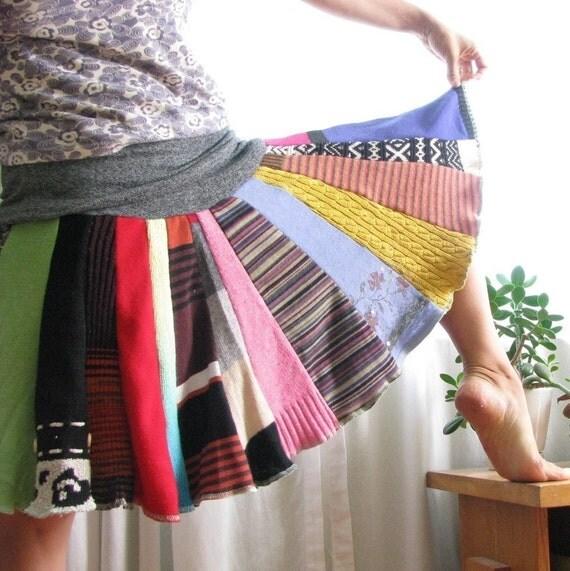 CUSTOM Sweater Skirt Adult Size