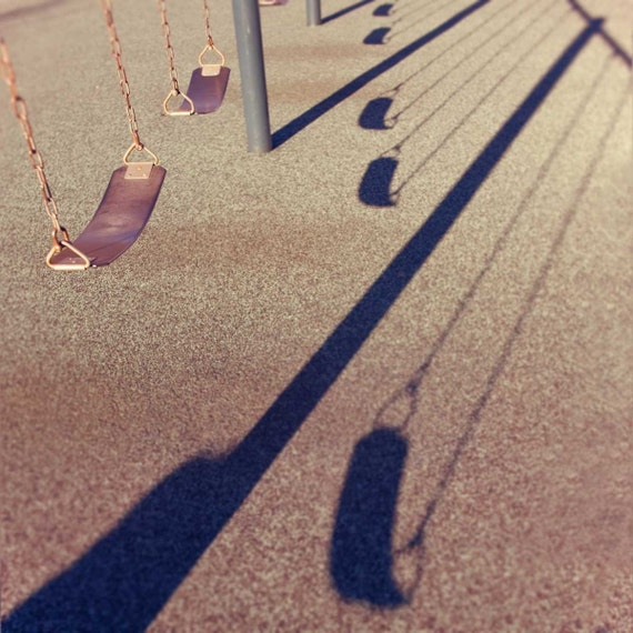 Shadows And Swings - Fine Art Photography