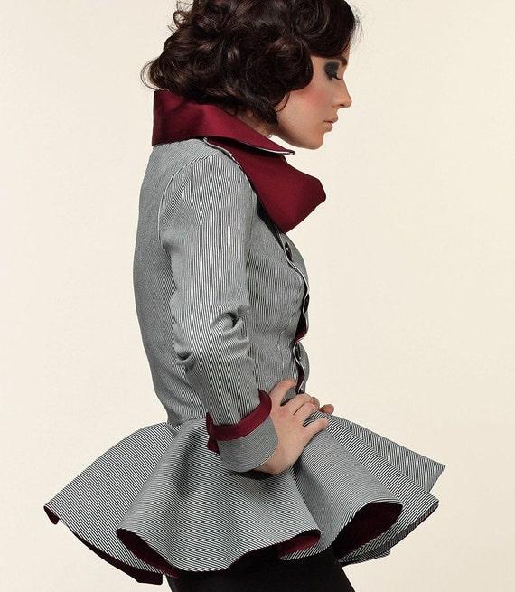 The TimB Striped Jean Jacket
