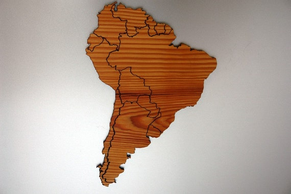 South America Magnetic Geography Puzzle