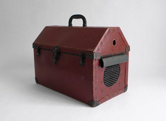 Antique Pet Carrier