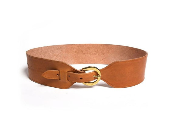 The Classic Harness Belt in Light Tan
