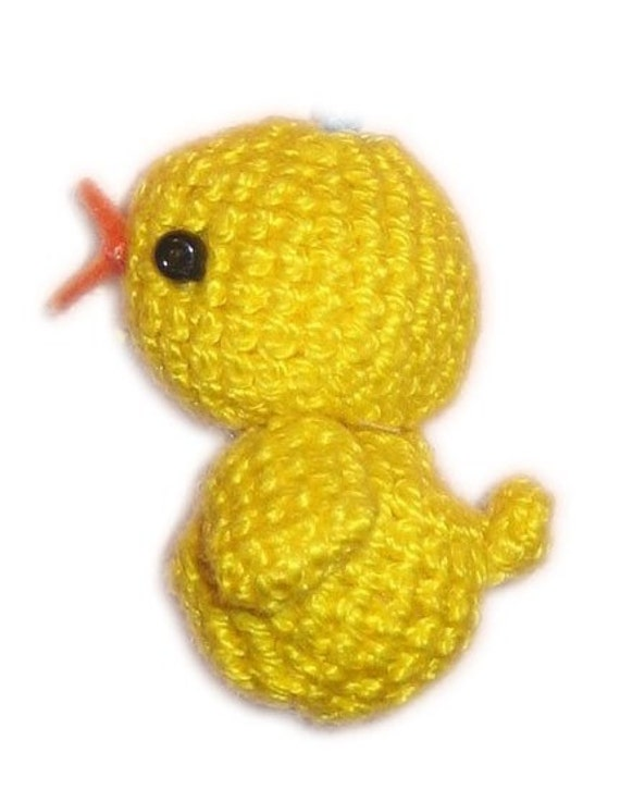 BABY DUCK Pdf  EMAIL CROCHET PATTERN